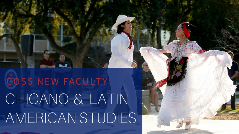 The Department of Chicano and Latin American Studies welcomes one new professor.