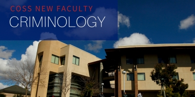 The Department of Criminology welcomes three new professors.